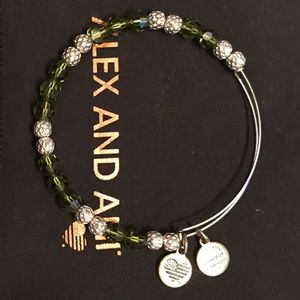 ✨Alex and Ani ✨ Green Bangle ✨